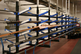 Custom storage & feed racks